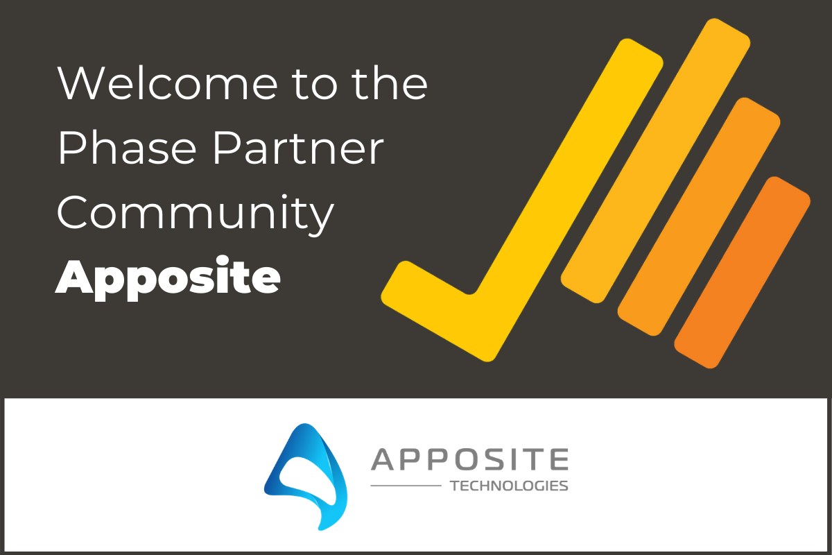 Phase Pacific is proud to announce our new partnership with Apposite Technologies